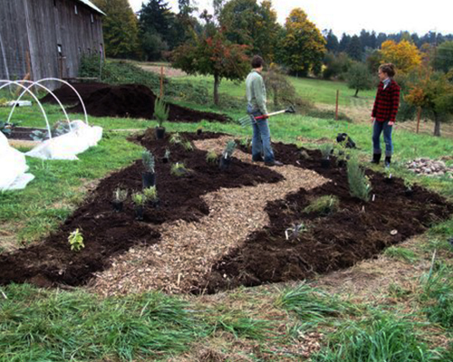Nisqually Indian Tribe :: 2009 In the Garden